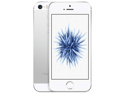 Apple iPhone SE Silver with Cashback by Redemption