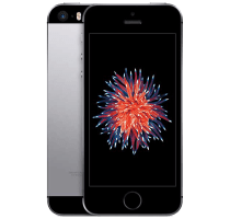 Apple iPhone SE with GHD Hair Straighteners