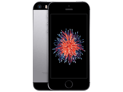 Apple iPhone SE with Samsung Galaxy Tab E 9.6
