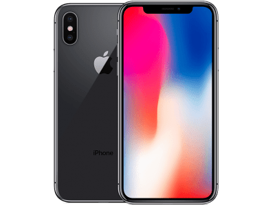 Apple iPhone X with Google Home