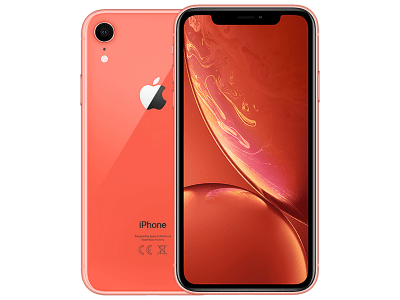 Apple iPhone XR 128GB Coral with iPad and Tablet