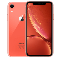 Apple iPhone XR 256GB Coral with iPad and Tablet