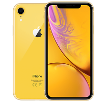 Apple iPhone XR 256GB Yellow with Headphone and Speakers