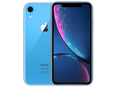 Apple iPhone XR Blue on O2 £0 (0 months)
