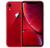 Apple iPhone XR Red with iPad and Tablet