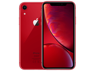 Apple iPhone XR Red on O2