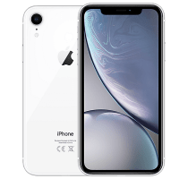 Apple iPhone XR White with iPad and Tablet