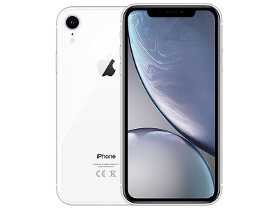 Apple iPhone XR White on O2