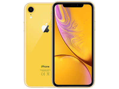 Apple iPhone XR Yellow on O2 £45 (24 months)
