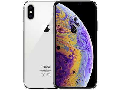 Apple iPhone XS Max Silver on 1 Months Contract