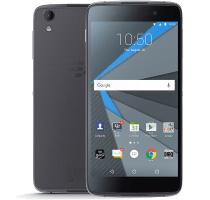 Blackberry DTEK50 with iPad and Tablet