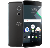 Blackberry DTEK60 with Laptop