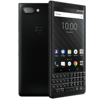 Blackberry Key2 with Samsung Galaxy Tab A 9.7