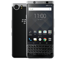 Blackberry Keyone with 32 inch LG HD TV