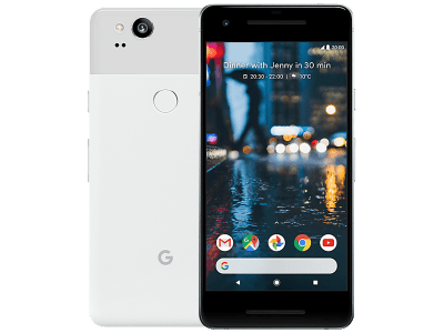 Google Pixel 2 128GB White with Sony PS4