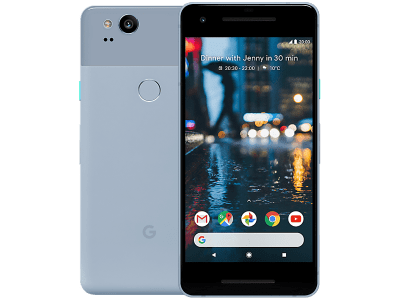 Google Pixel 2 Blue Upgrade Deals