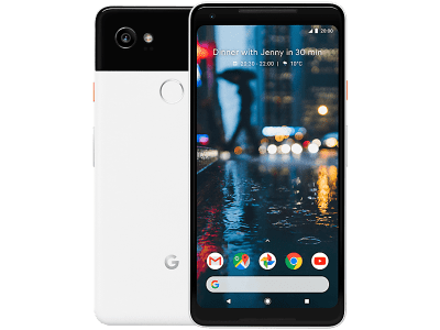 Google Pixel 2 XL 128GB White with Cashback by Redemption