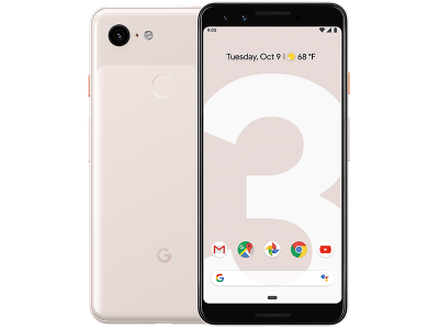 Google Pixel 3 Not Pink on 12 Months Contract
