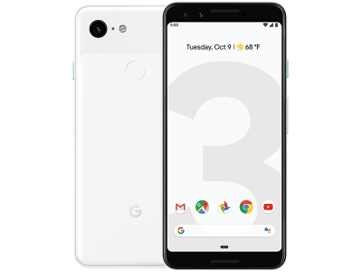 Google Pixel 3 White with Guaranteed Cashback