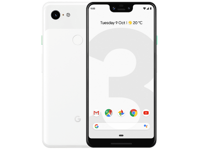 Google Pixel 3 XL White on O2