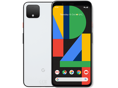 Google Pixel 4 White with Guaranteed Cashback