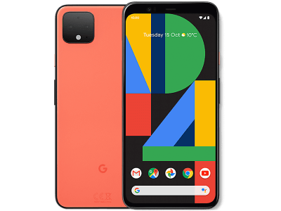 Google Pixel 4 XL Orange Contracts Deals