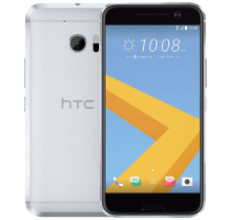 HTC 10 Silver with iT7s2 Sport Bluetooth Headphones