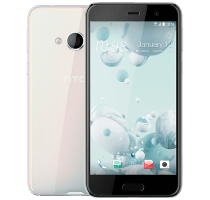 HTC U Play White with Beauty and Hair