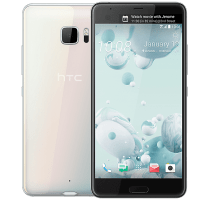 HTC U Ultra White with iT7s2 Sport Bluetooth Headphones