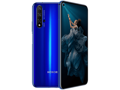 Huawei Honor 20 Blue with Guaranteed Cashback