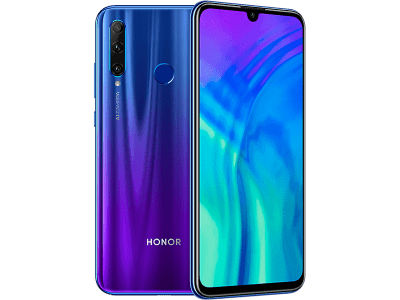 Huawei Honor 20 Lite Blue with Line Rental Redemption