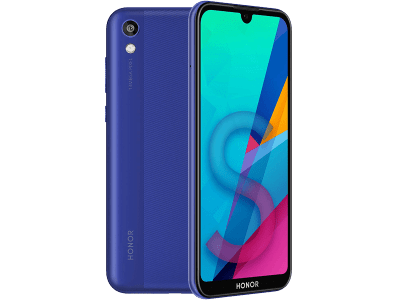 Huawei Honor 8S Blue on O2