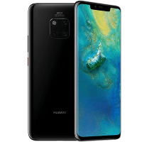 Huawei Mate 20 Pro with iPad and Tablet