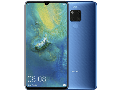 Huawei Mate 20 X Blue on 24 Months Contract