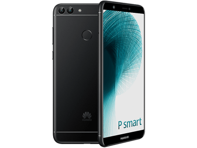 Huawei P Smart with Laptop