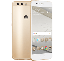 Huawei P10 Gold on O2