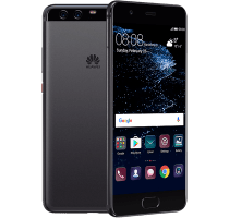 Huawei P10 Plus with Laptop