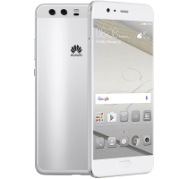 Huawei P10 Silver with Laptop