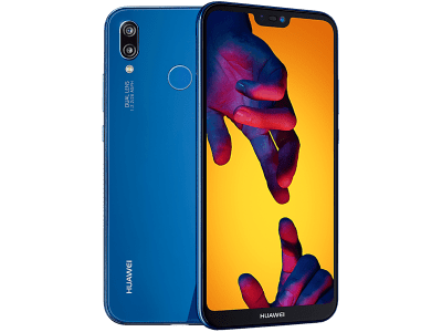 Huawei P20 Lite Blue with Headphone and Speakers