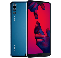 Huawei P20 Pro Blue on O2