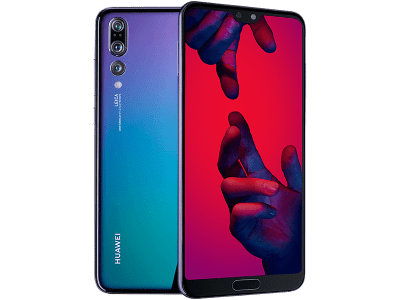 Huawei P20 Pro Twilight with Utilities