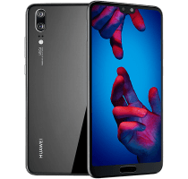 Huawei P20 with Laptop