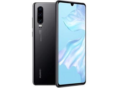 Huawei P30 128GB with iPad and Tablet