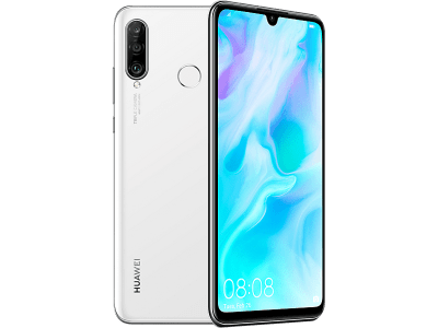 Huawei P30 Lite White on Vodafone
