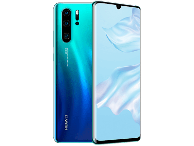 Huawei P30 Pro 128GB Aurora with iPad and Tablet
