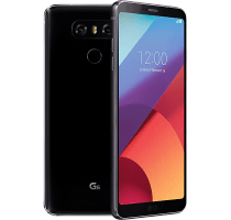 LG G6 with GHD Hair Straighteners