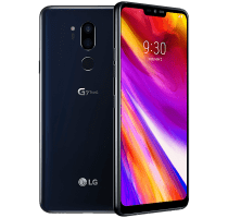 LG G7 with Laptop