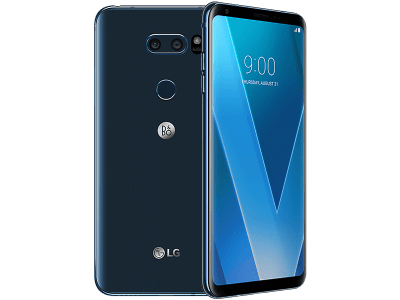 LG V30 Blue on EE