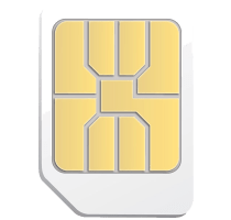 Micro SIM Card with iT7x2 Headphones