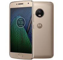 Motorola Moto G5 Plus Gold with iPad and Tablet